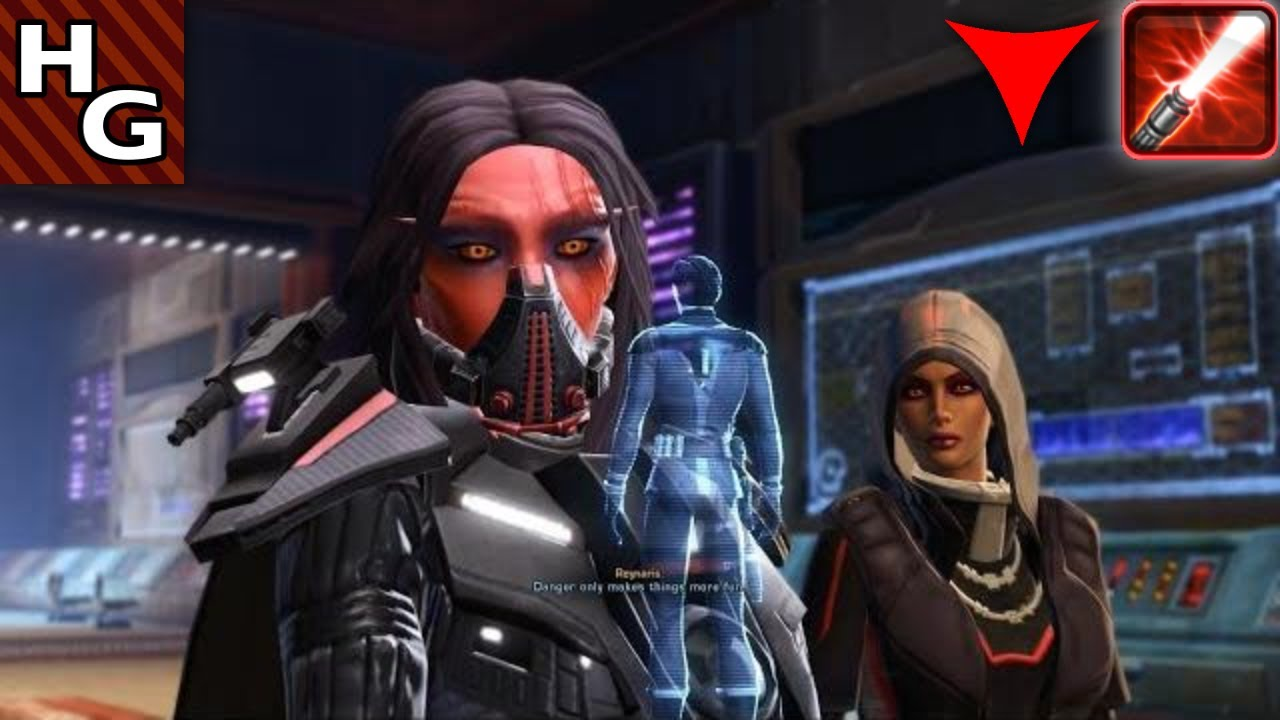 SWTOR Female Sith Warrior - Traitor Among The Chiss - YouTube