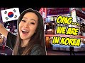 WE'RE IN SEOUL KOREA FOR THE FIRST TIME WITH MY FIANCE!!!