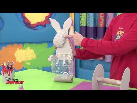 Art Attack - Animal Trolley - Official Disney Junior UK HD