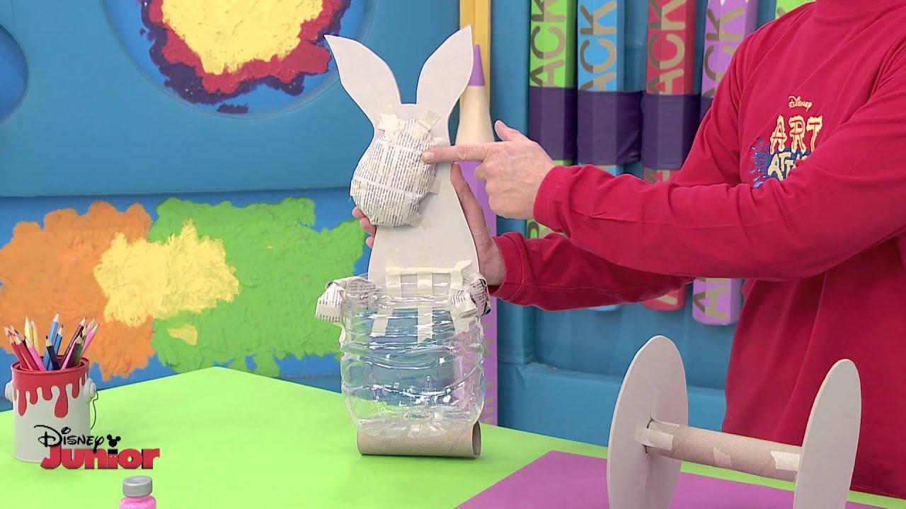 Art attack animal trolley official disney junior uk hd - Videos de art attack manualidades ...