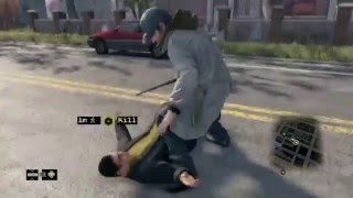 What an idiot lol:)!!! (Swagger Fail) WATCH DOGS