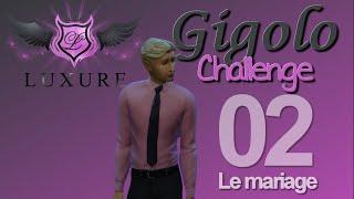 LES SIMS 4 : Gigolo Challenge [ Episode 2 ] Le mariage