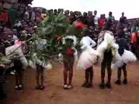 Lesotho Dancing