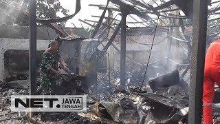 Kebakaran 300 Kios Di Pasar Banjarnegara- NET JATENG