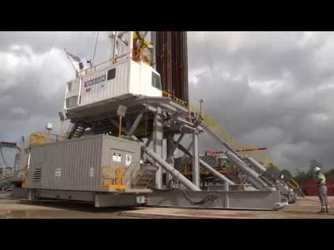 RIG-UP WITH ENSIGN: Ensign Australia