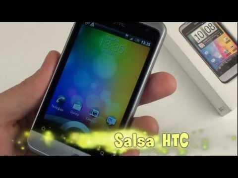 HTC Salsa - видео обзор от Video-shoper.ru