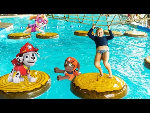 PAW PATROL Hunt Assistant Hunts Chase Rubble at Great Wolf  Lodge Water Park