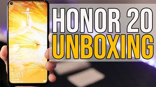 HONOR 20 Unboxing | Huawei Honor 20 | Review