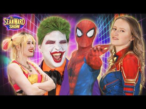 Spider-Man, The Joker - MARVEL vs DC Battle of the Movie Billionaires! The Sean Ward Show - 동영상