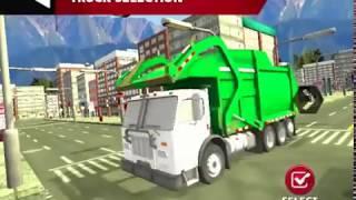 Real Garbage Truck Game Walkthrough Part 2