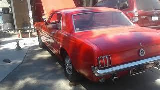1965 Mustang, 289, with open headers(2)