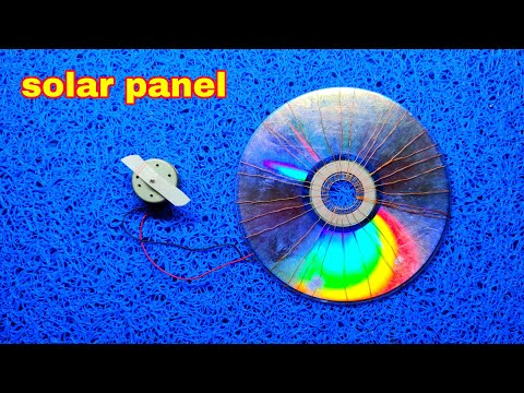 Diy solar panels with cd free energy project