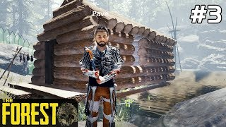 The Forest PL Gameplay [#3] Budujemy WIOSKĘ /z Skie