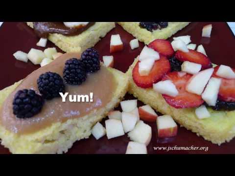 Baked Millet Breakfast Squares