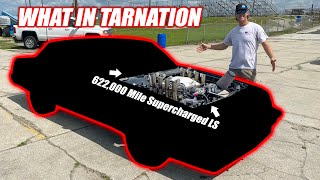 Can We BLOW UP a 622,000 Mile LS Engine with a Supercharger?? This Car is EPIC!! (8 tractor flaps)