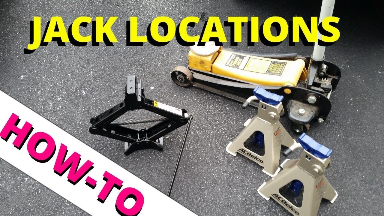 hight resolution of jack and lift locations how to escape