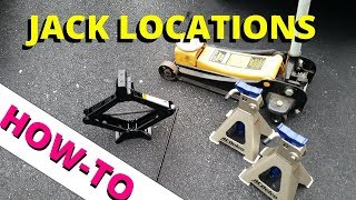 Jack and Lift Locations: HOW TO ESCAPE