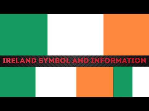 Ireland National Symbol and Information | Ireland national day bird, animal,flag and national flower