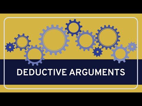 CRITICAL THINKING  Fundamentals: Deductive Arguments
