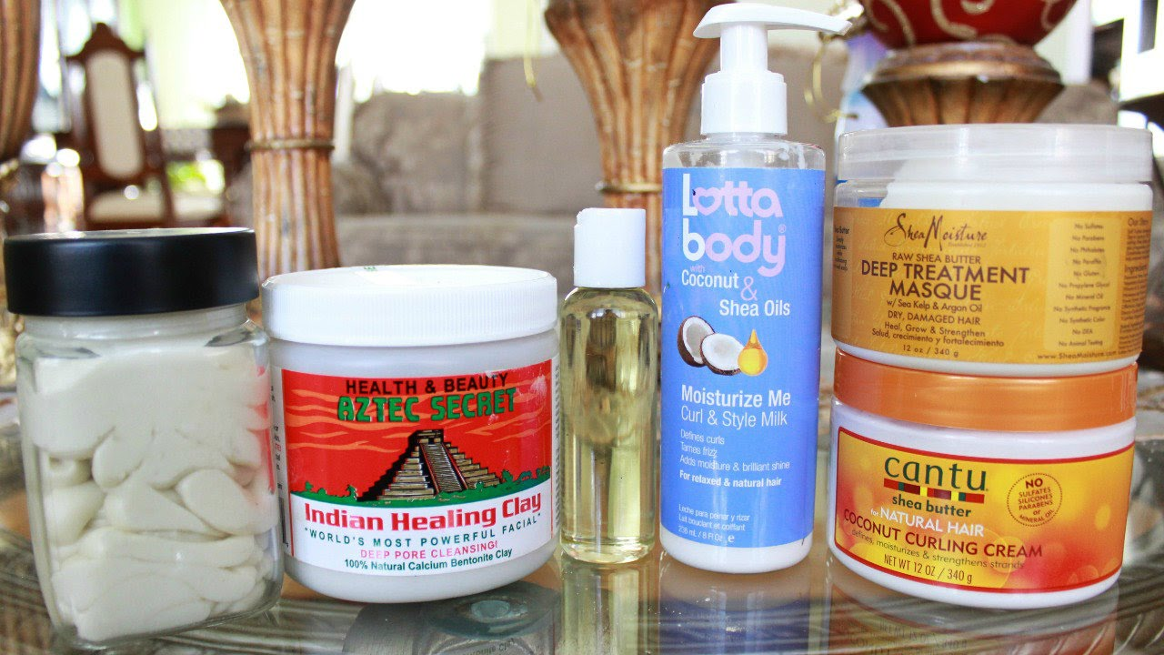 Natural Hair Styling Tools: My Favourite Hair Products - YouTube