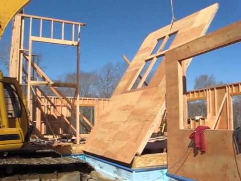 Net Zero Energy Home Construction - Foundation/Framing