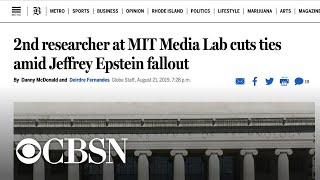 More fallout over MIT's past ties to Jeffrey Epstein
