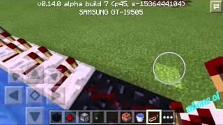 Minecraft pe 0.14.0 otomatik tnt fırlatıcı vol 2
