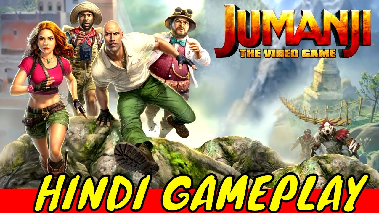 Download JUMANJI THE VIDEO GAME PC GAMEPLAY    FULL GAME [ HINDI ] 1080P 60FPS