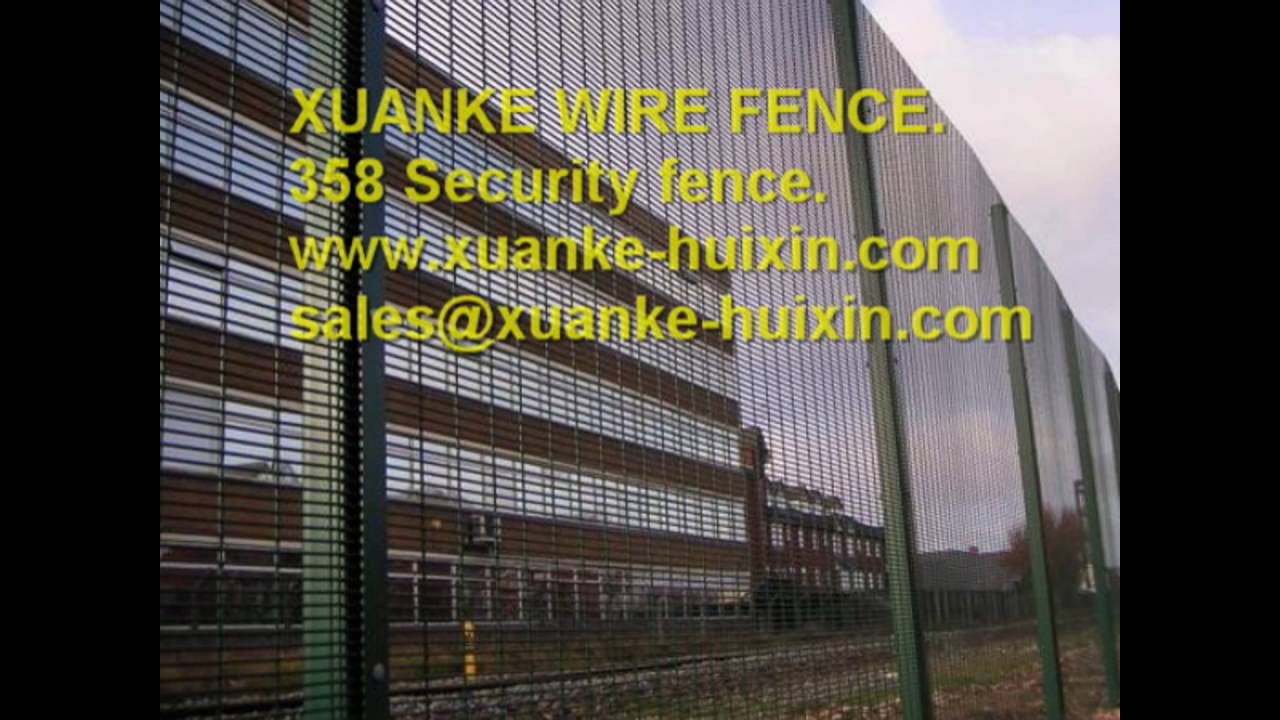 High security welded wire fence,358 welded mesh wire fence,Pvc/pe ...