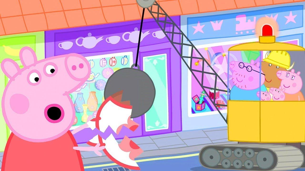 Herr Bulle im Porzellanladen | Cartoons für Kinder | Peppa Wutz Neue Folgen