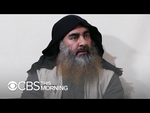 ISIS leader Abu Bakr al-Baghdadi appears alive and well in new video
