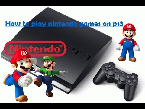 How to play Nintendo games on PS3! (TUTORIAL)