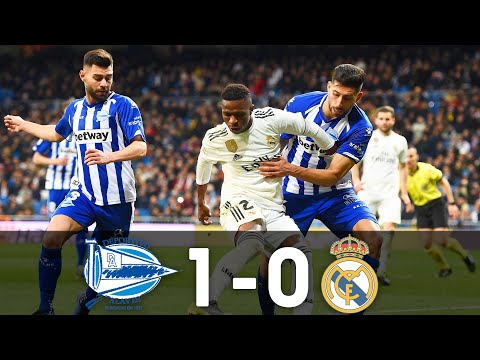 Alavés vs Real Madrid : 1–0 : 95th Minute Goal, 6/10/2018