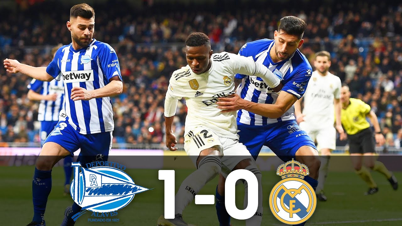 Alavés Vs Real Madrid 1 0 95th Minute Goal 6 10 2018