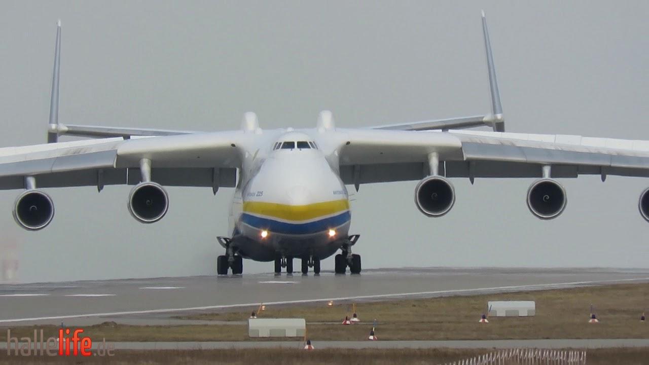 Antonov An 225 Landing Takeoff At Leipzighalle Airport 03