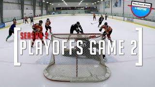 2018 PLAYOFFS | GoPro Hockey Goalie [HD] - GAME 2