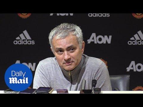 Man United V Everton: Jose Mourinho Post-match Press Conference - Daily Mail