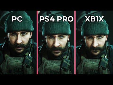 Call Of Duty: Modern Warfare – PC Max Vs. PS4 Pro Vs. Xbox One X Graphics Comparison