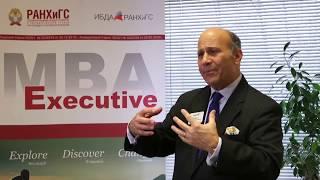 Вице-президент AACSB Тимоти Мескон о бизнес-образовании и Executive MBA ИБДА РАНХиГС