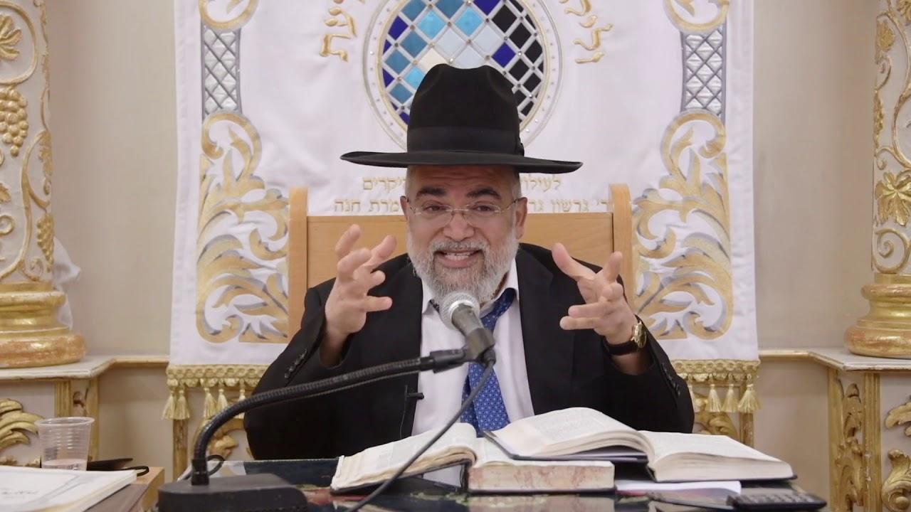 """הרב משה אליצור - פרטי דינים בהלכות ברכות - [במסגרת השיעור השבועי של הגר""""ד יוסף] מי""""ג סיון תשע""""ט"""