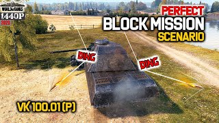 VK 100.01 (P): Perfect Block Mission Scenario