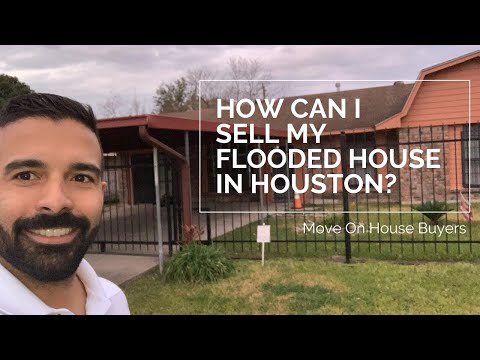 How to sell my flooded house in houston   Move On House Buyers