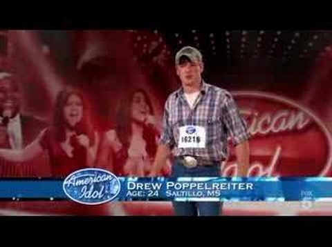 American Idol Season 7 Audition Ep 2 Drew Youtube