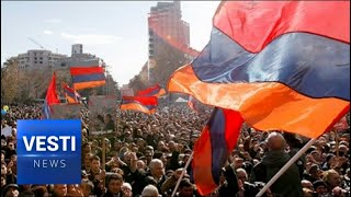 Successful Color Revolution in Armenia? Prime Minister Forced to Resign, Thousands in the Streets