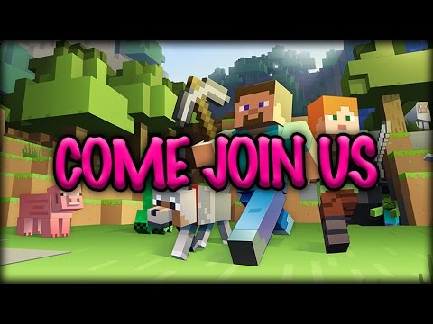 MINECRAFT LIVE - Come Join