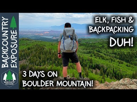 Incredible Backpacking And Trout Fishing! | Boulder Mountain, Utah