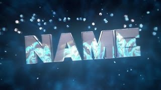 Free 3D Intro #37 | Cinema 4D/AE Template