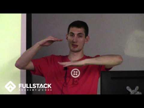 Eddie Zaneski from Twilio (Q&A) - Fullstack Academy Speaker Series
