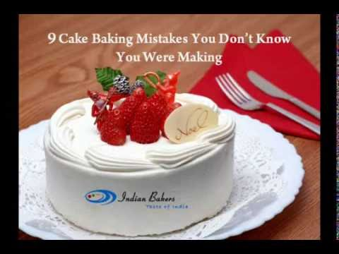9 Cake Baking Mistakes You Don't Know You Were Making | Online Cake Shop Mumbai -- indianbakers.com