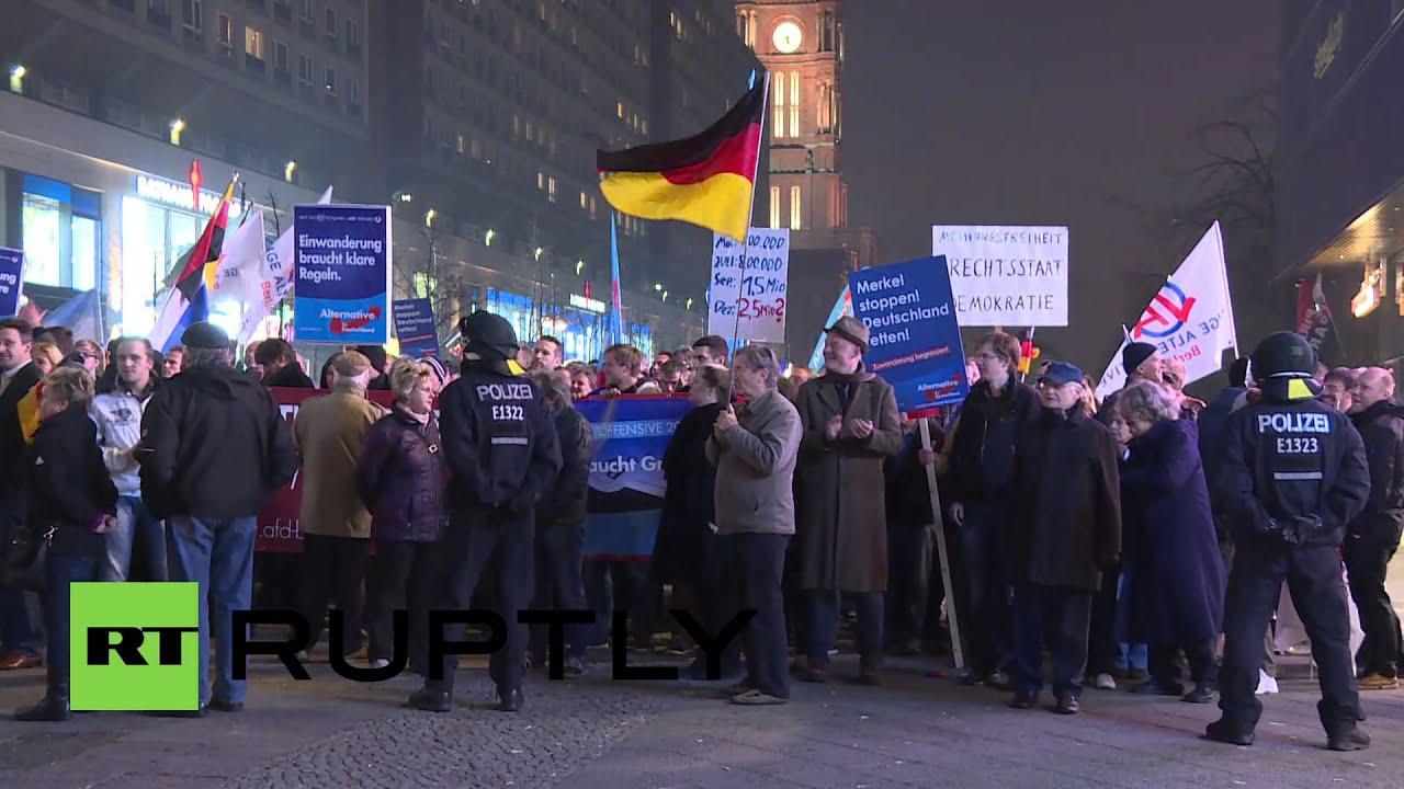 Afd Demo Neubrandenburg